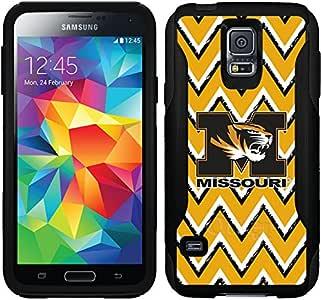 Coveroo Commuter 系列手机壳适用于三星 Galaxy S5 - 密苏里大学斯科摩天虎图案