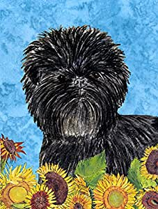 Caroline's Treasures Affenpinscher Flag Made or Printed in the USA 多色 小号