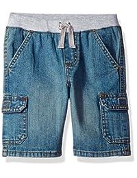 牧马人 authentics 婴儿幼儿男孩针织腰短裤
