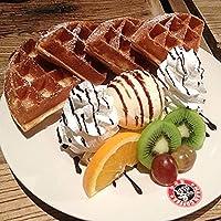 韩国漫咖啡松饼粉 糕点预拌/美式华夫饼粉原味巧克力松饼粉1.5kg原味