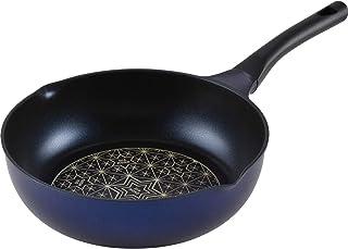 和平FREIZ 炒锅 烧煮烹炸 28cm 双口深型 仅燃气火 轻质 钻石涂层 RA-9739