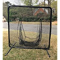 游戏者运动组棒球袜网网 17.78 厘米 x 19.05 厘米 外径 40.64 厘米 钢和 60 毫米 HDPE 网