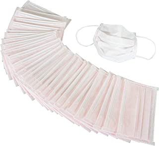 Azuma 口罩 眼镜不易起雾,适用于TK女性 30枚口罩 16 x 9cm 粉色 口红不易粘黏 日本制造