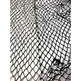 WSStetson Real Fish Net,拼接,缝,有时两色眼影 8 英尺 X 4 英尺