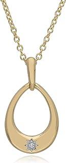 Gemondo USA 14K 黄金钻石星星项链