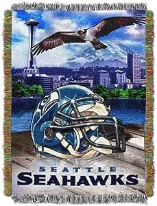 Northwest NFL 腈纶毯子 Seattle Seahawks 48 X 60