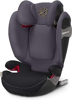 cybex Solution S-Fix 汽车座椅,Group 2/3,秋金 优质黑色