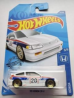 Hot Wheels 2020 本田系列 5/5 - '88 Honda CR-X,白色 123/250