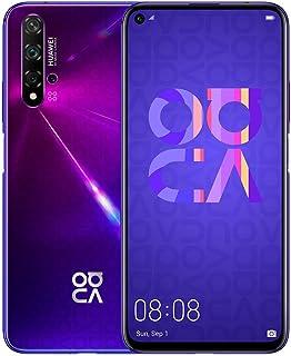 """华为 Nova 5T (128GB, 8GB) 6.26"""" LCD,Kirin 980,48MP 四摄像头,22.5W 快速充电,双 SIM GSM 无锁全球 4G LTE 国际型号 YAL-L21Huawei Nova 5T Midsumme..."""