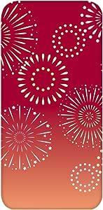 智能手机壳 透明 印刷 对应全部机型 cw-721top 套 *花 fireworks 闪亮 UV印刷 壳WN-PR477812 URBANO V02 图案C