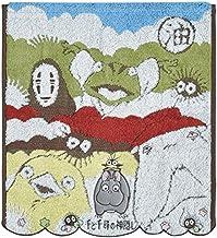 丸真 手巾 吉卜力工作巾 千與千尋 34×36厘米 油屋與神的*棉 1005012300