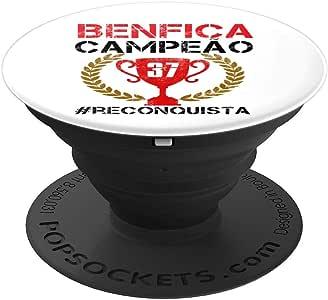 BENFICA CAMPEAO 礼品 37 requista PopSockets 手机和平板电脑握架260027  黑色