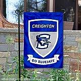 Creighton Bluejays Crest Shield 花园旗帜和横幅