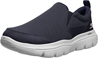Skechers 斯凯奇 Go Walk Evolution Ultra-impec 一脚蹬运动鞋, 深蓝/灰色