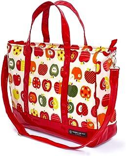 带衬垫的课堂包 层压 烟熏包 时尚苹果秘密(象牙色) N3001300