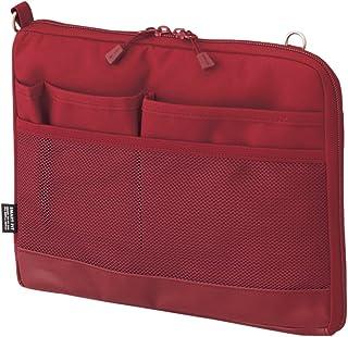 Lihit Lab 收纳袋 A7680-3 A5 横 红色