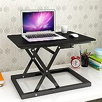 Yandex 简约现代站立笔记本折叠桌家用台式办公桌简易可升降站立式电脑桌