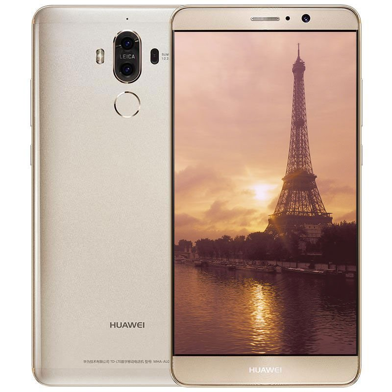 HUAWEI 华为 Mate 9 全网通智能手机 (6G+128G, 香槟金)