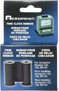 Acroprint 20-0106-002 Red/Blue Ribbon for Models 125, 150 and P150 Heavy-Duty Time Clocks