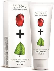 Moraz 天然石榴和聚合物护手霜,80 毫升