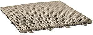 DuraGrid Cross-Rib 12 x 12 Interlocking Tiles, Beige
