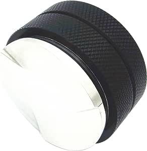 新款 3 叶草底 棕榈 Tampers 咖啡色 Leveler Macaroon 防捣蛋器 适用于咖啡研磨 - 58 毫米 黑色 FBA_14182432