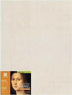 "Ampersand Art Supply Unprimed 木艺术家板 - 手工轮廓 7/8 Inch Depth 18""x24"" UPWP751824"