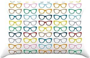 Kess InHouse Project M 彩虹规格 76.2 x 50.8 厘米枕套,标准