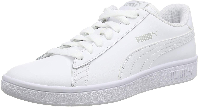 PUMA 彪马 中性款成人 Smash V2 皮革低帮运动鞋