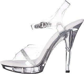 Ellie Shoes 女士 521-Jewel-W 高跟凉鞋