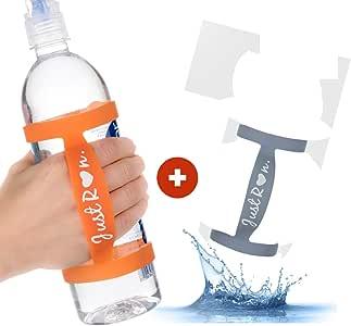 2 个手持式跑步水瓶架。 Runners Can Now 用我们的水瓶带保持水润