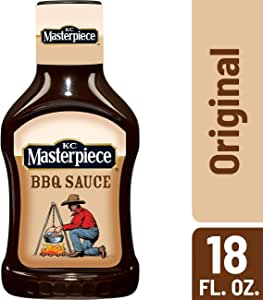 KC Masterpiece Original Barbecue Sauce, 18 Ounces (Pack of 6)