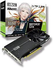ELSA 爱丽莎 GeForce GTX 1650 SP 显卡 VD7043 GD1650-4GERSP