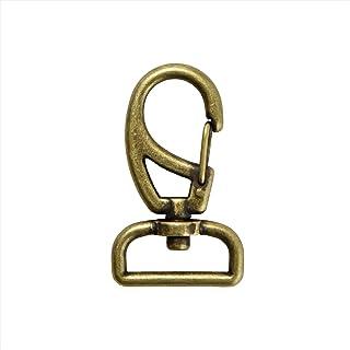 KIYOHARA 铁制龙虾扣 20毫米 1个装 古典金 SUN13-52