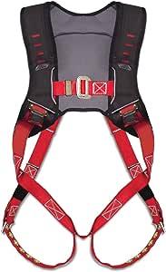 Guardian 秋季保护基本款 HUV 优质边缘系列背带,带穿过胸扣和腿部舌扣 M-Xlarge 181111