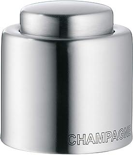 WMF 福腾宝 Clever&More 瓶塞,适用于香槟/气泡酒,Cromargan亚光不锈钢,高度4.7cm,Ø4cm