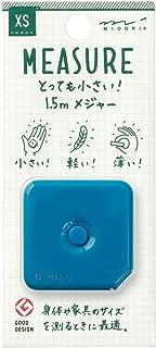 MIDORI XS 卷尺 1.5m 青