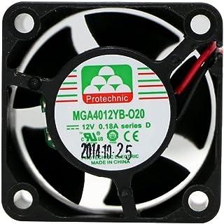 protechnic fan 12 v, 40 x 40 x 20 mm mga4012yb-020 d