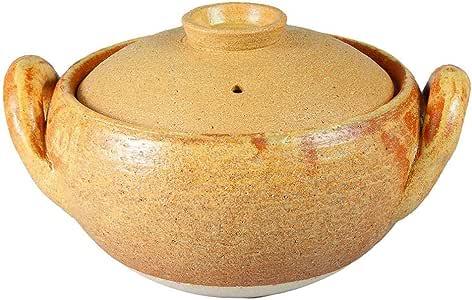 Nagatani Seitou 長谷製陶 土鍋 1600ml 長谷園 味增湯鍋 大 NCT-31