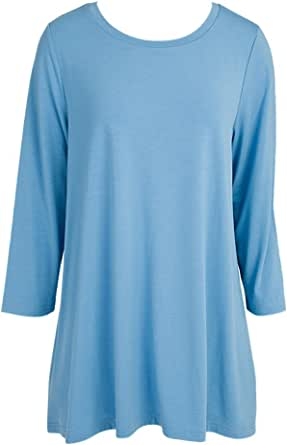 Mountain Mamas Essential Tunic Top With 3/4 Sleeve XXL