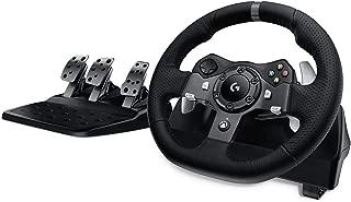 Logitech G920 Racing Lenkrad Driving Force für Xbox One, PC,Schwarz
