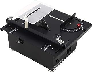 Huanyu 迷你台锯 厚度40MM 桌面速度可调双旋转 带防尘锯片 金属木 亚克力 Standard Set