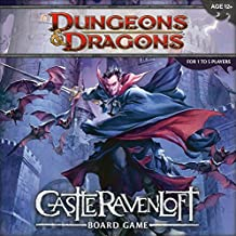 Dungeons & Dragons: Castle RavenLoft Board Game [With 20-Sided Die and 200 Encounter, Monster, and Treasure Cards and Tiles, Markers, Tokens and Ru(外版桌面游戏)