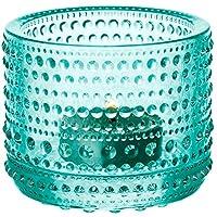 Iittala Kastehelmi 防风烛台 Wassergrün Standard 005982