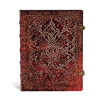 paperblanks 爱尔兰 Equinoxe昼夜之冠系列笔记本 大号 胭脂红