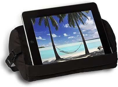 World's Best Pad Rest 平板电脑支撑枕头 黑色 12 x 7 x 6 PR 180-Blak-Blak