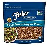 FISHER Chef's Naturals 蜂蜜烤切碎的山核桃, 无防腐剂,10盎司(283克)