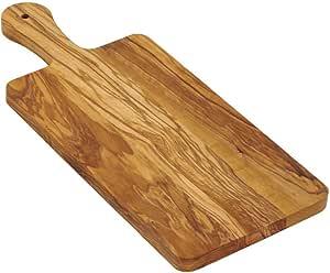 Bisetti 橄榄木切割板 棕色 15.35 x 6.3-in BT-63010