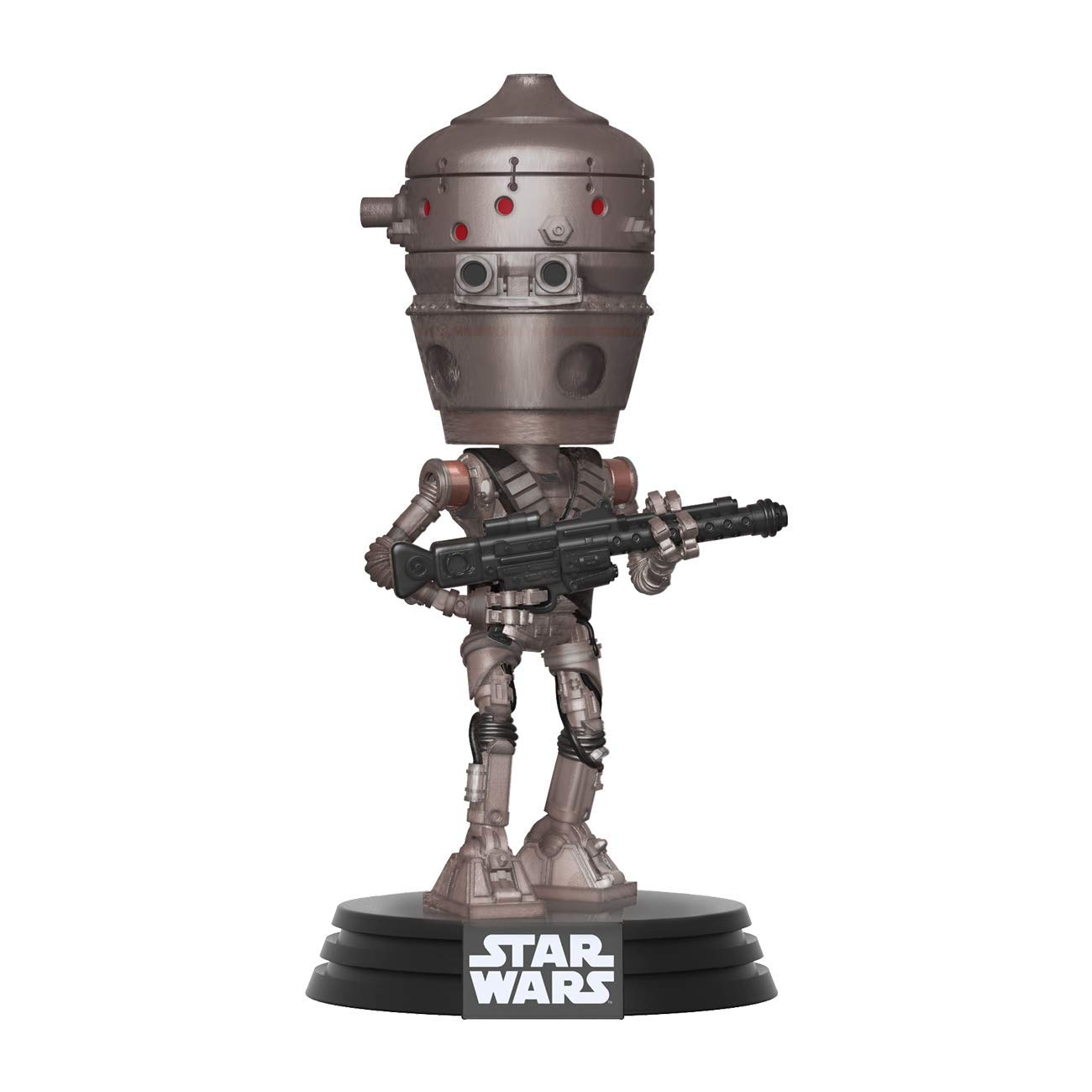 Funko POP 乙烯基, Collectible Figure, 多种颜色 Not appropriate for children under the age of 3 Funko 42064 POP Vinyl Star Wars The Mandalorian: IG-11 Disney Collectible Figure, Multicolour One-Size 多种颜色