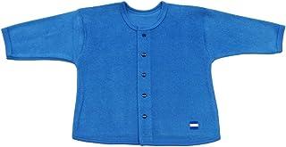 Baby Story 加绒 开衫 S91203 日本制造 蓝色 80-90cm